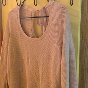 Lauren Conrad blush sweater M